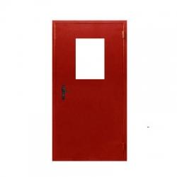 Дверь противопожарная металлическая ДПМ-1 EI-60 (однополая с остеклением)
