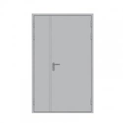 Дверь противопожарная металлическая ДПМ-2 EIS-60 (двуполая без остекления)